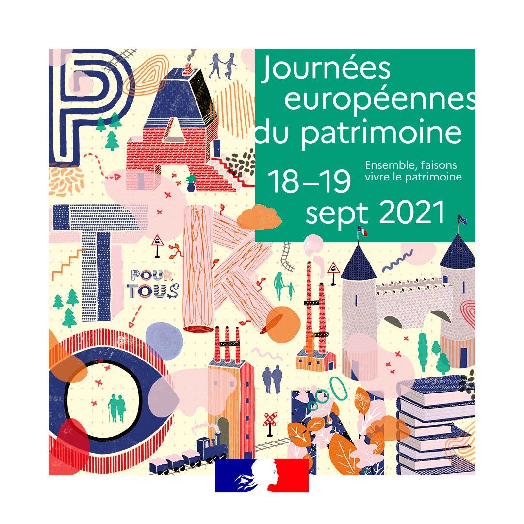 Journées Européennes du Patrimoine samedi 18 septembre 2021